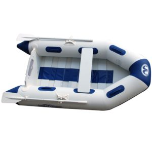 Aqua Marina - Delux Slat Deck, Uppblåsbar Gummibåt