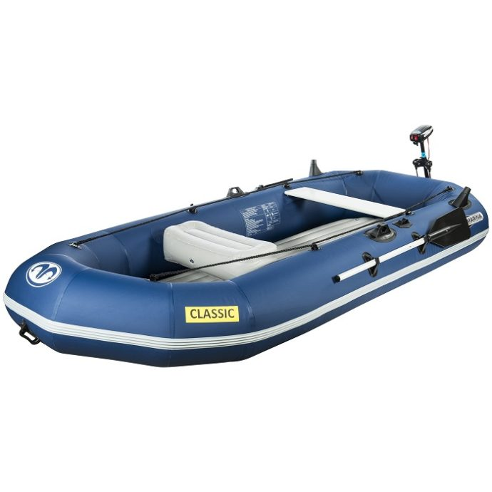 Aqua Marina - Klassisk Avancerad Fiskebåt med Elmotor-1