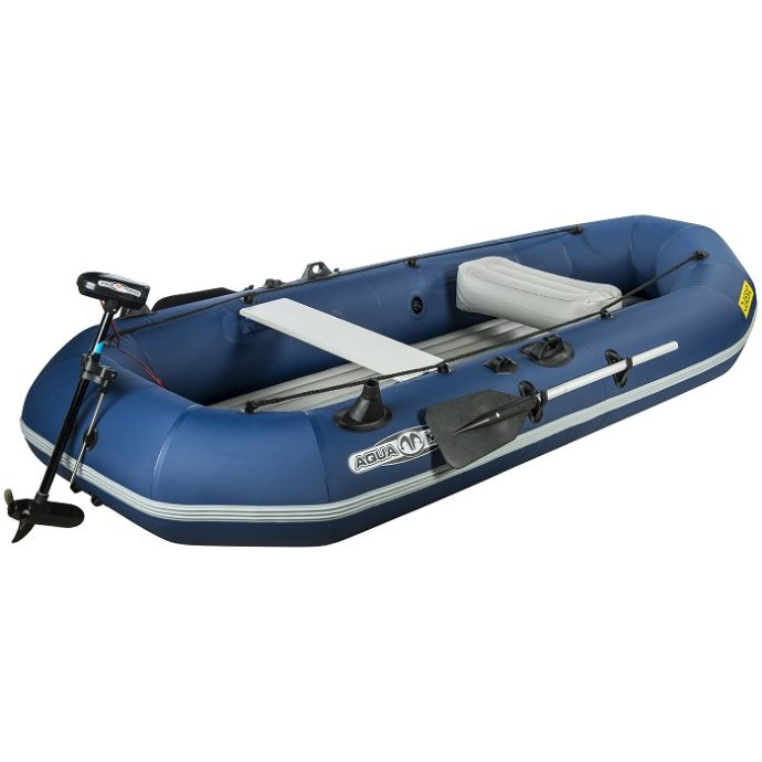 Aqua Marina - Klassisk Avancerad Fiskebåt med Elmotor-2