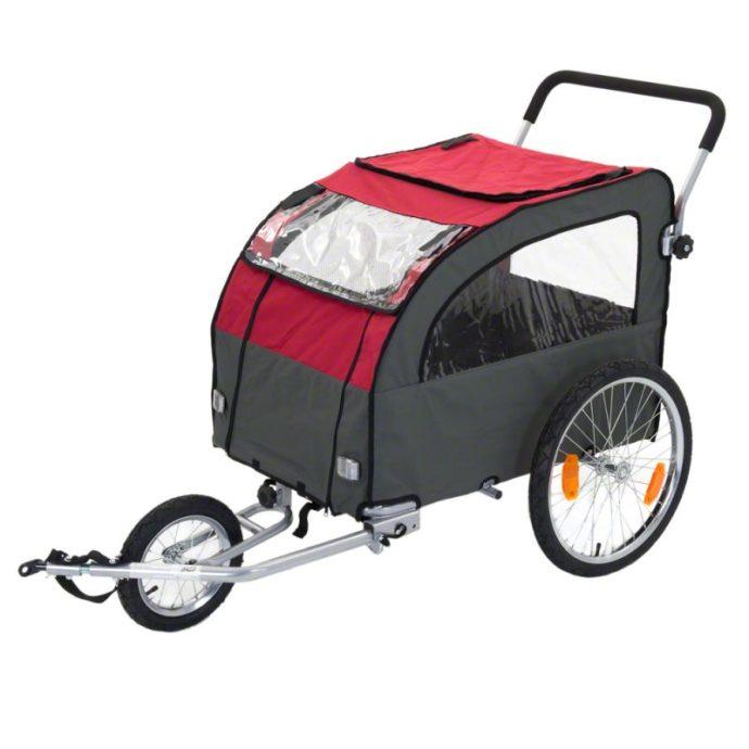Globetrotter - Cykelvagn för Hundar, inkl. Jogging-set-1