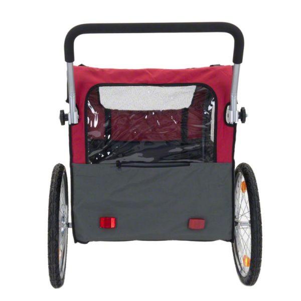Globetrotter - Cykelvagn för Hundar, inkl. Jogging-set-3