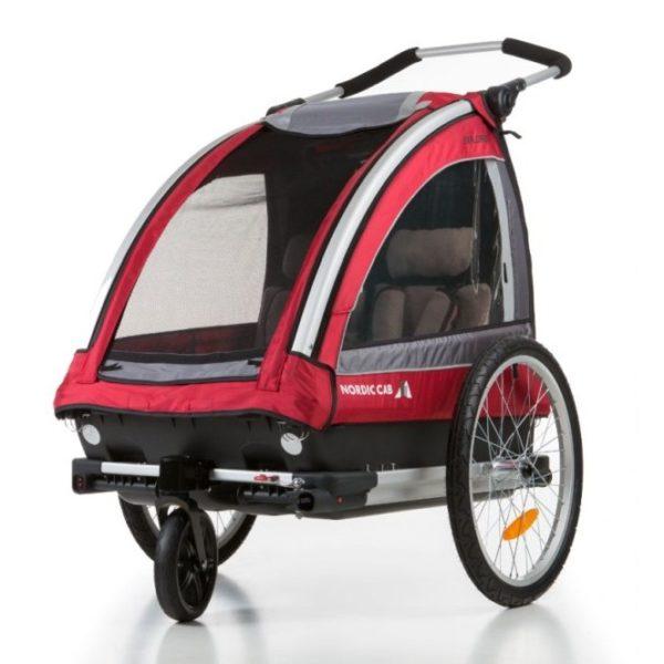 Nordic Cab - Barn- och Cykelvagn Explorer 2 i 1