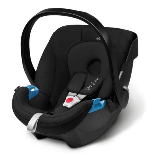Aton Babyskydd Pure Black - Bilbarnstolar