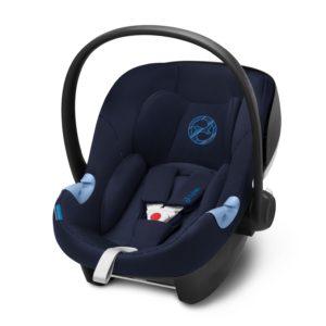 Aton M i-Size Babyskydd Indigo Blue - Bilbarnstolar