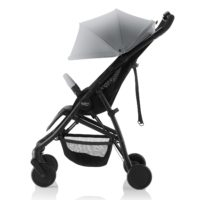 B-Lite Barnvagn Stålgrå - Brio Barnvagn