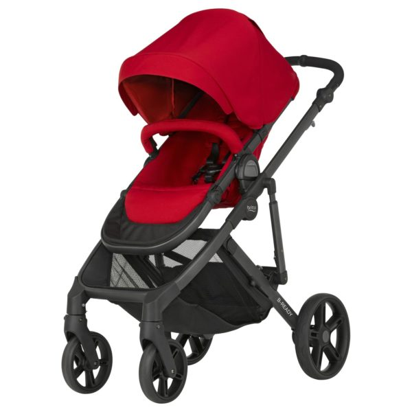 B-Ready Barnvagn Flame Red - Brio sittvagn