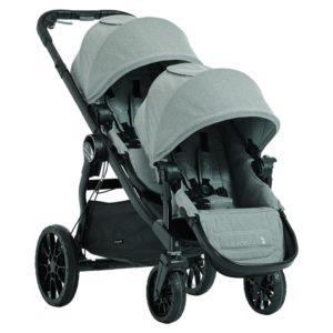 Baby Jogger City Select LUX inkl Liggdel och extra Syskonsits - Tvillingvagn