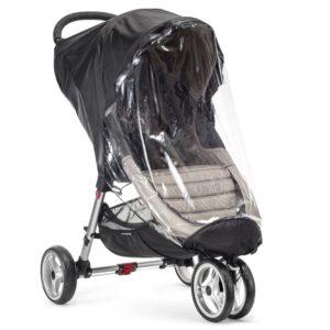 Baby Jogger Regnskydd City Mini/City Mini GT (Svart) - regnskydd barnvagn