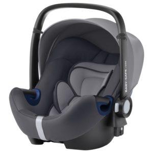 Baby-Safe² i-Size Babyskydd Graphite Marble - Bilbarnstolar