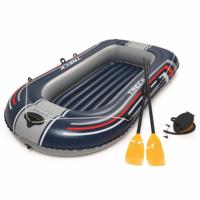 Bestway Gummibåt Hydro-Force med pump och åror blå 61083 - uppblåsbar båt