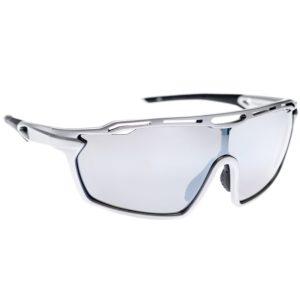 Bicycle Glasses - Silver/Silver Mirror Lens - Aeroclub - Köp online - - sportglasogon