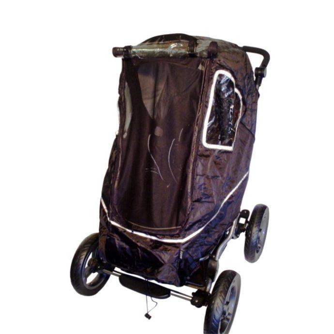 Bozz Allvädersskydd - regnskydd barnvagn