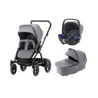 Britax Go Big 2 duovagn + i-Size babyskydd - Duovagn
