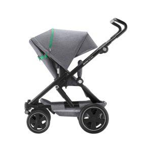 dynamic grey/svart - Vändbara sittvagnar