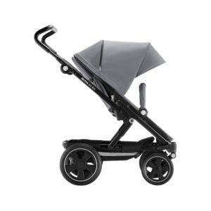 steel grey/svart - Vändbara sittvagnar
