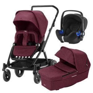 Britax Go Next 2 duovagn + i-Size babyskydd - Barnvagnspaket