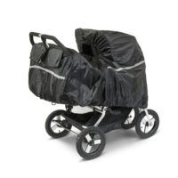 Bumbleride Regnskydd till Indie Twin (Svart) - regnskydd barnvagn