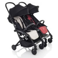 Bumprider Connect Sittvagn (White Black) - Resevagn