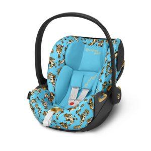 Cloud Z i-Size Babyskydd Jeremy Scott/Cherub Blue - Bilbarnstolar