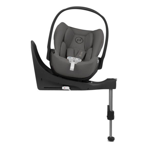 Cloud Z i-Size Babyskydd med SensorSafe® Manhattan Grey - Bilbarnstolar
