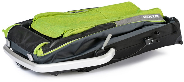 Croozer Dog XL Dog Trailer grasshopper green - Cykelvagnar för Hund
