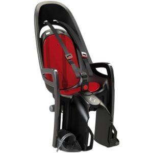 Cykelsits Hamax Zenith Pakethållarfäste svart/röd - Hamax cykelstolar
