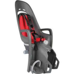 Cykelsits Hamax Zenith Relax Pakethållarfäste grå/röd - Hamax cykelstolar
