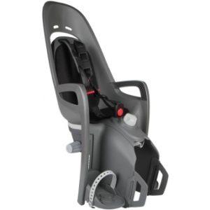 Cykelsits Hamax Zenith Relax Pakethållarfäste grå/svart - Hamax cykelstolar