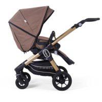 Eco brown - Vändbara sittvagnar