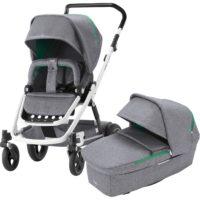GO NEXT² Barnvagn Dynamic Grey/Vitt Chassi - Brio Barnvagn