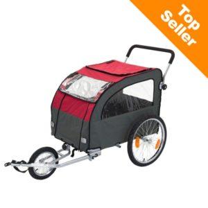 Globetrotter cykelvagn för hundar
