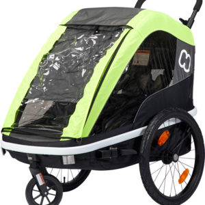 Hamax Avenida Bike Trailer lime - Hamax Cykelvagnar