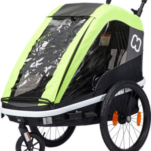 Hamax Avenida One Bike Trailer lime - Hamax Cykelvagnar