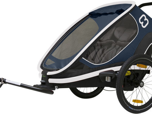 Hamax Outback Bike Trailer navy - Hamax Cykelvagnar