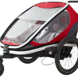 Hamax Outback Bike Trailer red/grey/black - Hamax Cykelvagnar