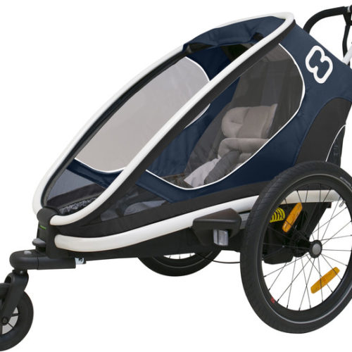 Hamax Outback One Bike Trailer navy - Hamax Cykelvagnar