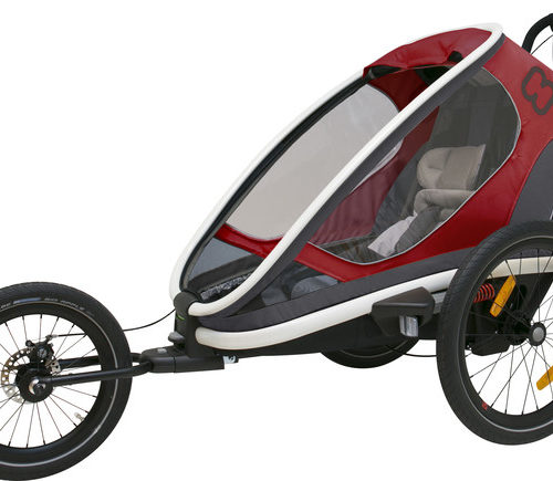 Hamax Outback One Bike Trailer red/grey/black - Hamax Cykelvagnar