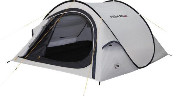 High Peak Boston 3 Tent aluminium/dark grey (2019) - Pop-up tält