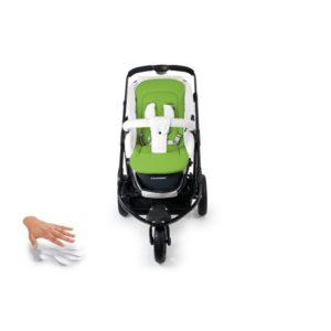 grön - Sittdyna barnvagn