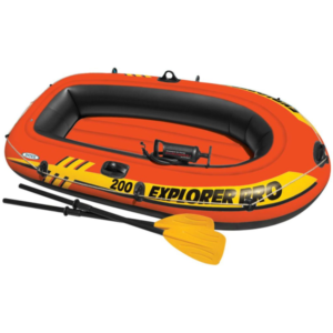 Intex Explorer Pro 200 Set Uppblåsbar Båt med Åror och Pump 5835 - uppblåsbar båt