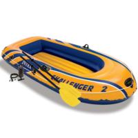 Intex Uppblåsbar båt Challenger 2 med pump och åror 68367NP - uppblåsbar båt
