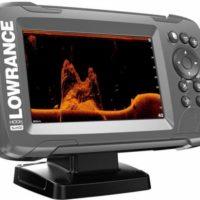 LOWRANCE HOOK2-5X GPS SPLITSHOT - Ekolod