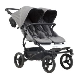 Mountain Buggy Duet The luxury collection Syskonvagn (Herringbone) - Mountain buggy