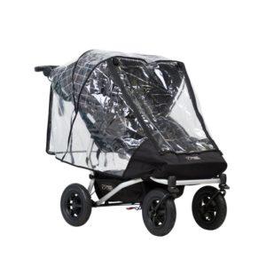Mountain Buggy Duet v3 Storm cover Regnskydd (För två sitsar) - regnskydd barnvagn