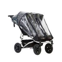 Mountain Buggy Duet v3 Storm cover Regnskydd (för en sits) - regnskydd barnvagn