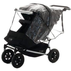 Mountain Buggy Regnskydd för Duet (Transparent) - regnskydd barnvagn