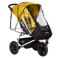 Mountain Buggy Swift & Mini v3 Regnskydd - regnskydd barnvagn