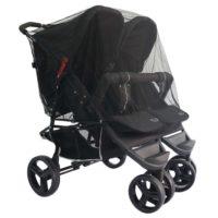 Myggholm Myggnät - Myggnät till barnvagn
