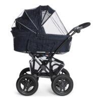 Myggholmen Myggnät Svart - Myggnät till barnvagn