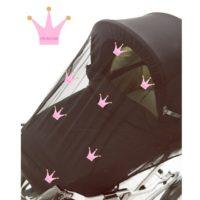 Myggnät Princess Crown - Myggnät till barnvagn